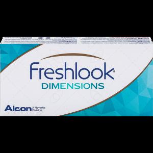 Freshlook Dimensions без диоптрий
